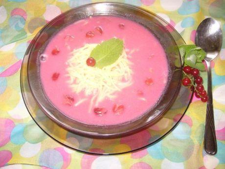 Przepis  zupa owocowa ze śmietaną przepis