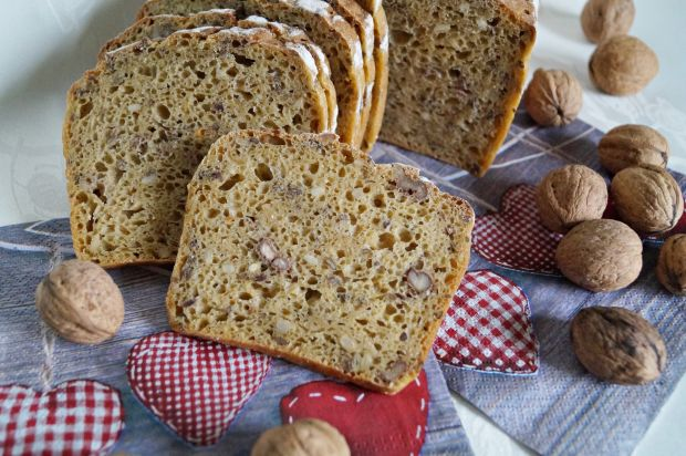 Przepis  chleb na zakwasie z dynią i orzechami przepis