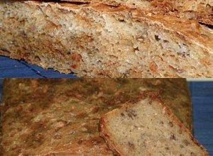 Wieloziarnisty chlebek  prosty przepis i składniki