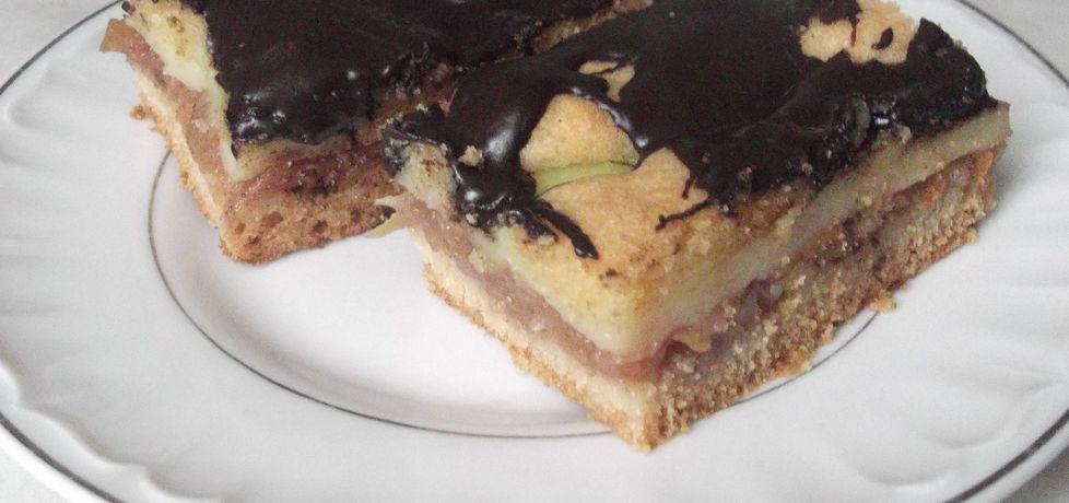 Moja szarlotka z polewą czekoladową (autor: waclaw ...