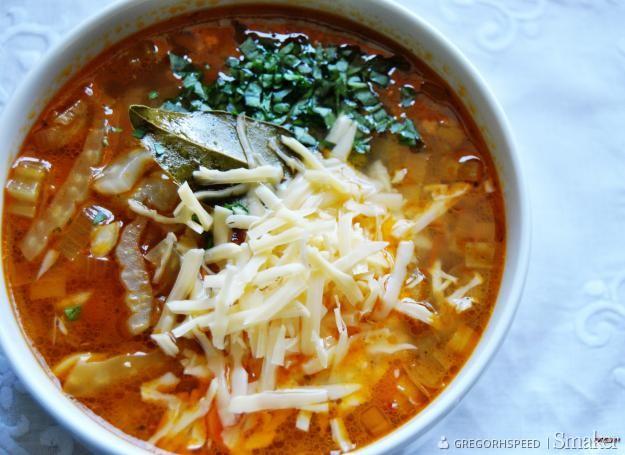 Zupa włoska z fenkułem