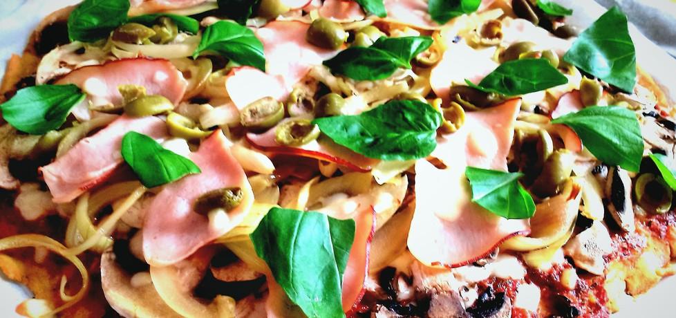Pizza (bez glutenu i drożdży) (autor: futka)