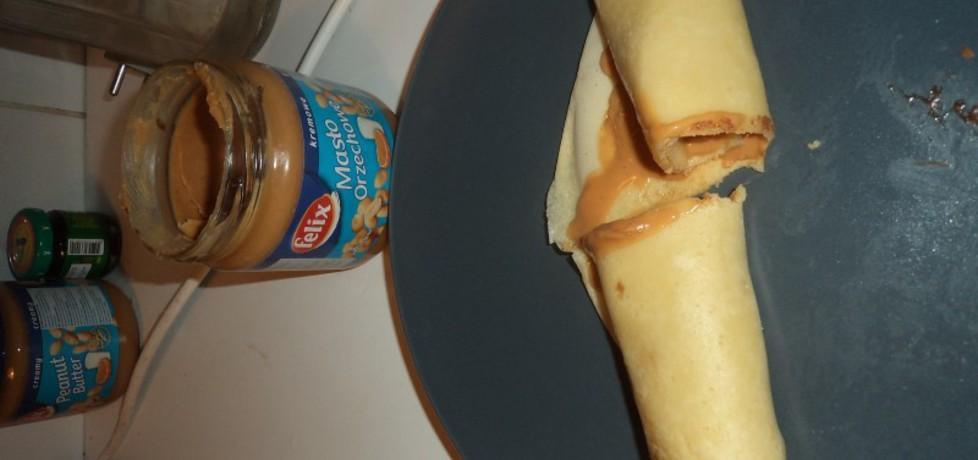 Naleśniki z masłem orzechowym (autor: norweska20 ...