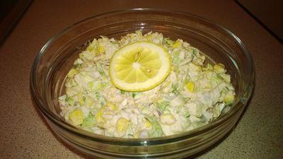 Salatka z wedzona makrela