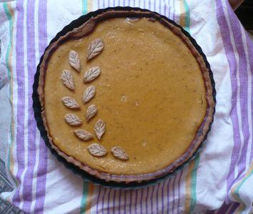 Pumpkin pie (placek dyniowy)