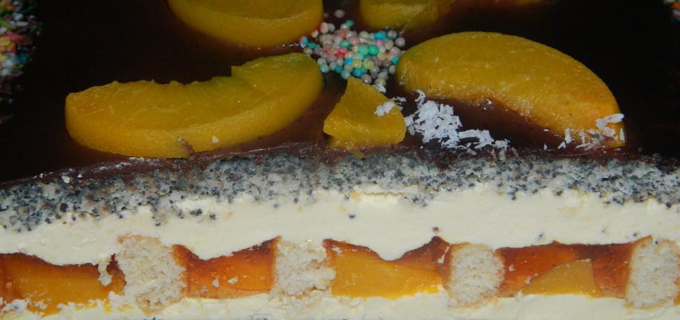Ciasto makowe z brzoskwiniami (autor: bietka)
