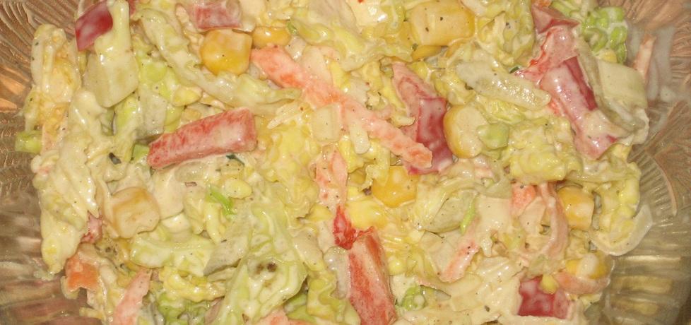 Surówka z kapusty włoskiej (autor: dorota59)