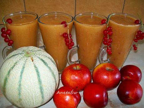 Przepis  smoothie kantalupa-nektarynka przepis