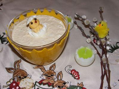 Chrzan z jajeczkiem