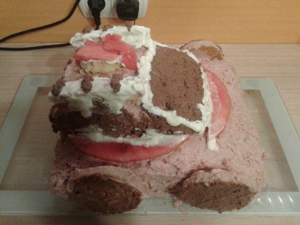 Przepis  truskawkowa straż pożarna  tort przepis
