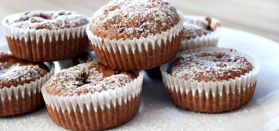 Muffinki owsiane z konfiturą żurawinową (autor: pyszota ...