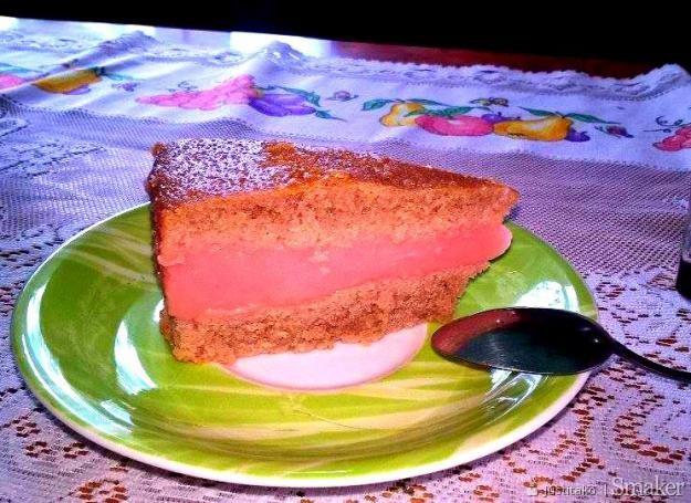 Ciasto czekoladowe z masą kisielową