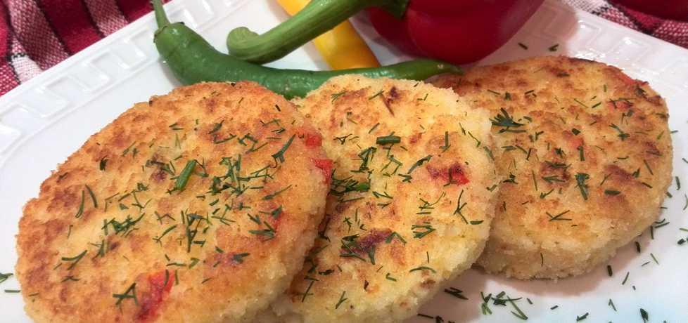 Kotlety ryżowe z papryką i serem (autor: hrabina-w