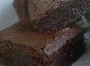 Brownies (ciasto czekoladowe)  prosty przepis i składniki