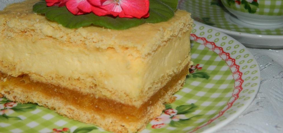 Ciasto z jabłkami i masą serową (autor: bietka)