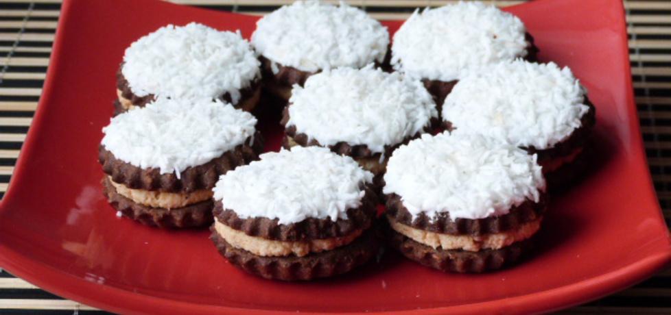 Kokosowe ciasteczka z orzechową masą (autor: renatazet ...