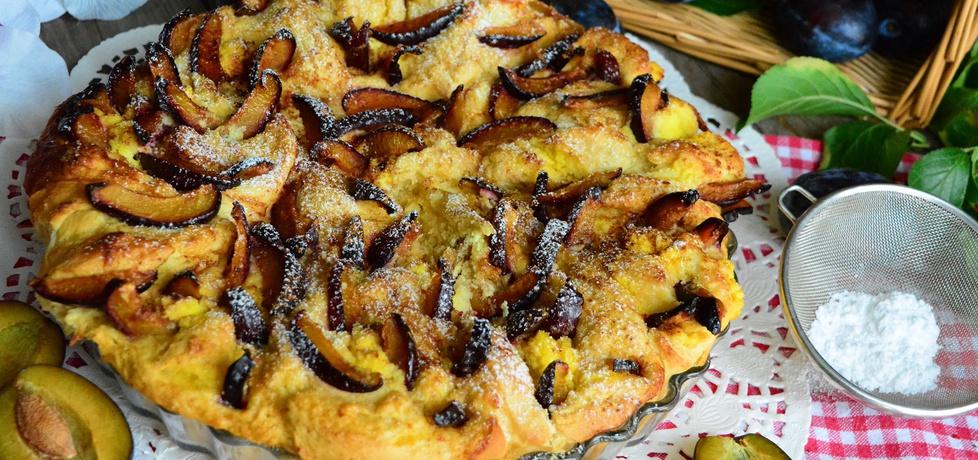 Ciasto drożdżowe z serem i śliwkami (autor: linka2107 ...