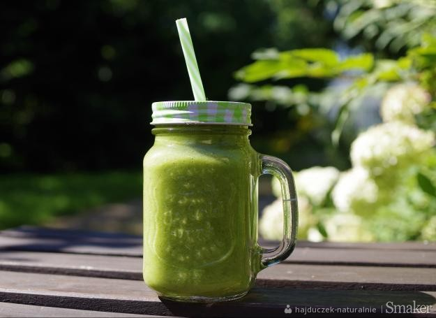 Zielony koktajl z magnezem i witaminą c