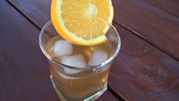 Przepis  pomarańczowa ice tea przepis