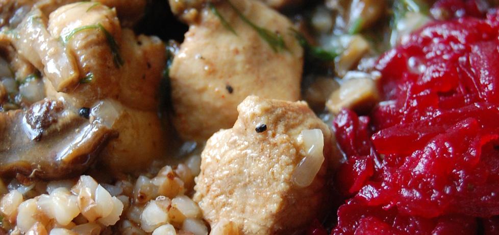 Gulasz z szynki z suszonymi grzybami (autor: aleksandraolcia ...
