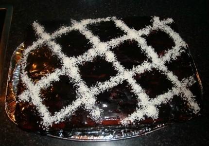 Ciasto biszkoptowe z truskawkami: