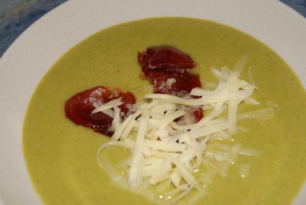 Przepis  zupa krem z jamon serrano przepis