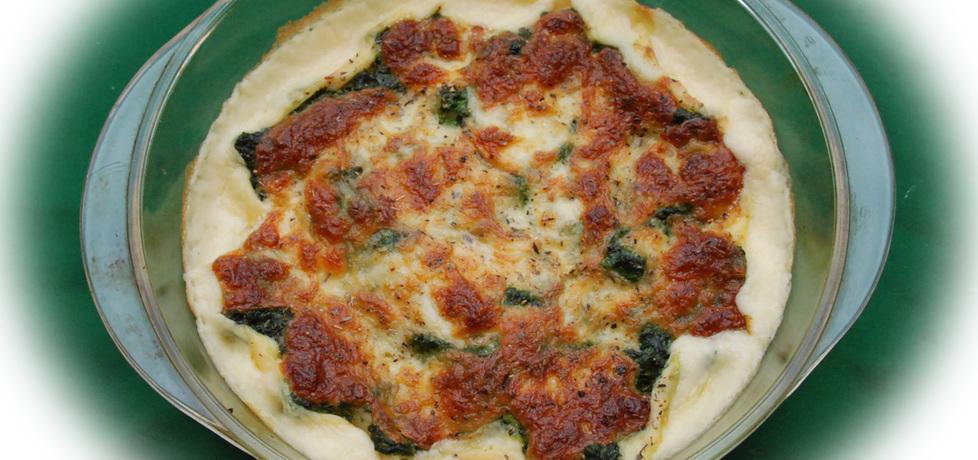 Cannelloni zapiekane z mozzarellą i szpinakiem (autor: fotoviderek ...