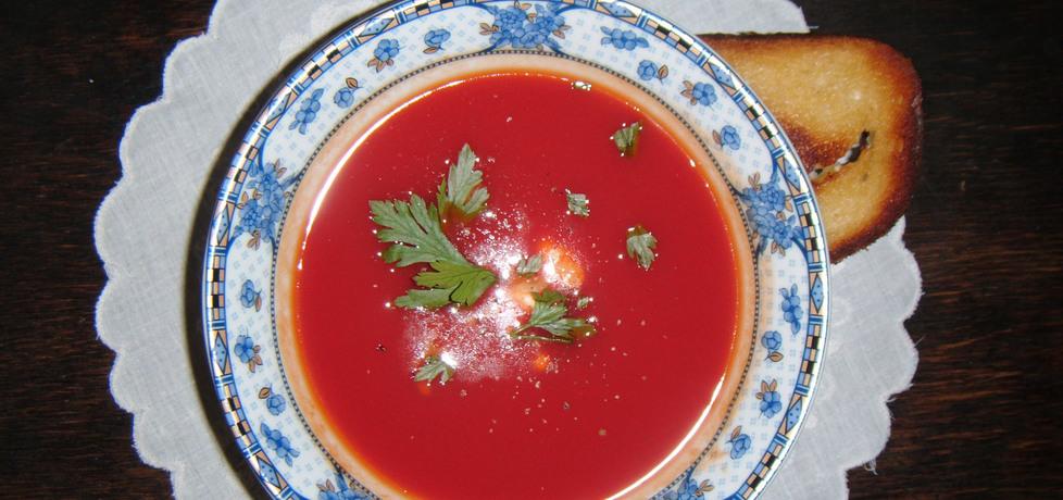 Błyskawiczna zupa pomidorowa (autor: yena)