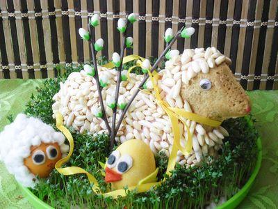 Wielkanocny baranek