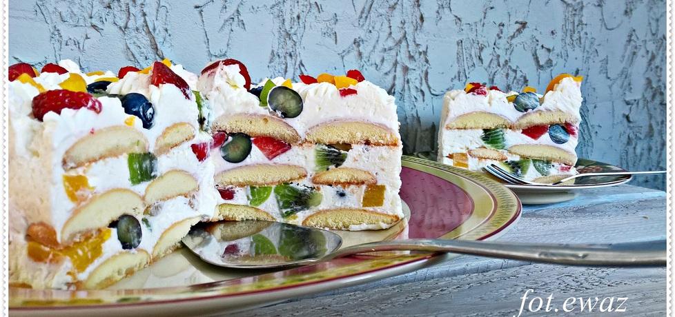 Owocowy tort bez pieczenia zewy (autor: zewa)