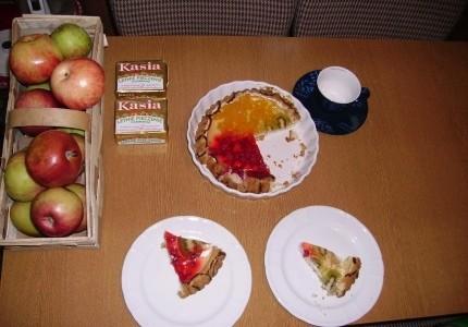 Tarta owocowa z galaretką