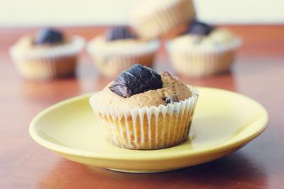 Muffiny z kinder bueno