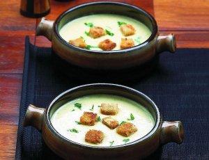 Zupa-krem z cykorii  prosty przepis i składniki