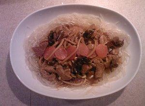 Karkówka w sosie imbirowym  prosty przepis i składniki