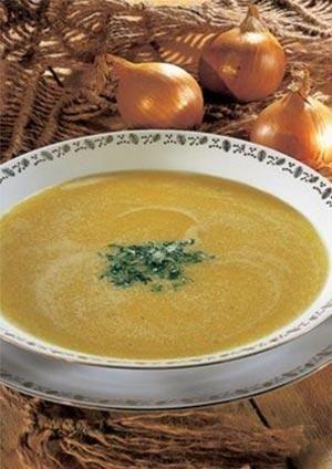 Pomysły na: zupa cebulowa z grzankami. gotujmy.pl