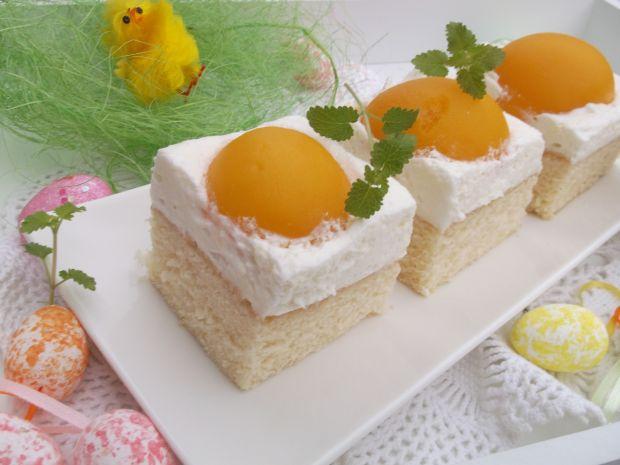 Przepis  ciasto wielkanocne ,jajko sadzone'' przepis