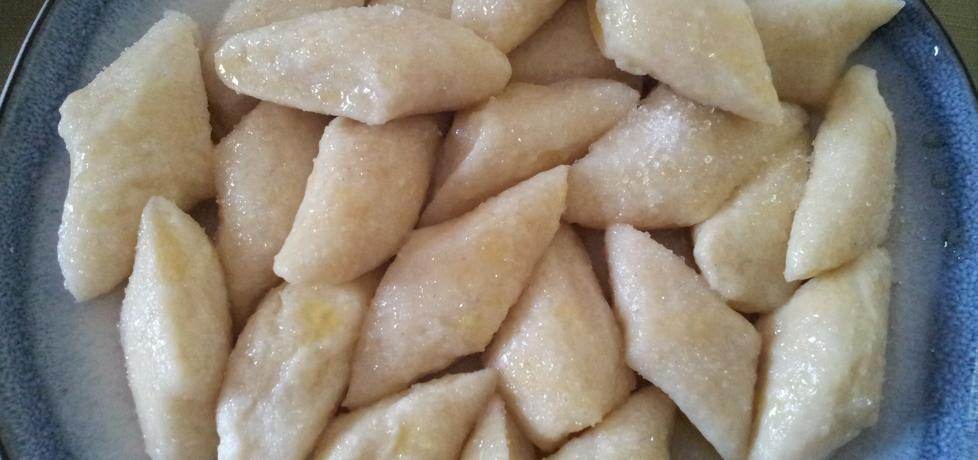 Kopytka z serem białym na słodko (autor: krokus)