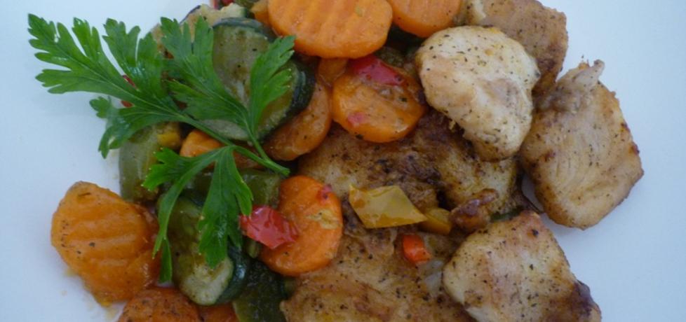 Ryba z warzywami (autor: renatazet)
