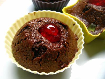 Babeczki kakaowe inspirowane nigella (pełnoziarniste żytnie ...