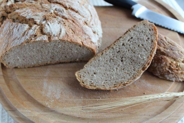 Przepis  chleb pszenny z garnka żeliwnego przepis