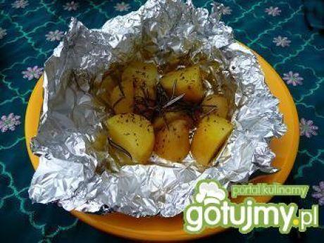 Przepis  szybkie ziołowe ziemniaki z grilla przepis