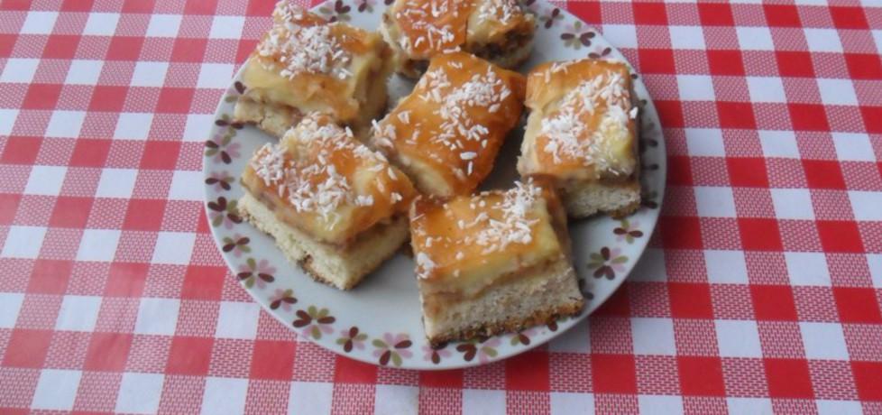 Ciasto z jabłkami i budyniem (autor: ikrakowianka)