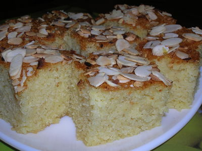 Grysikowe ciasto z mascarpone