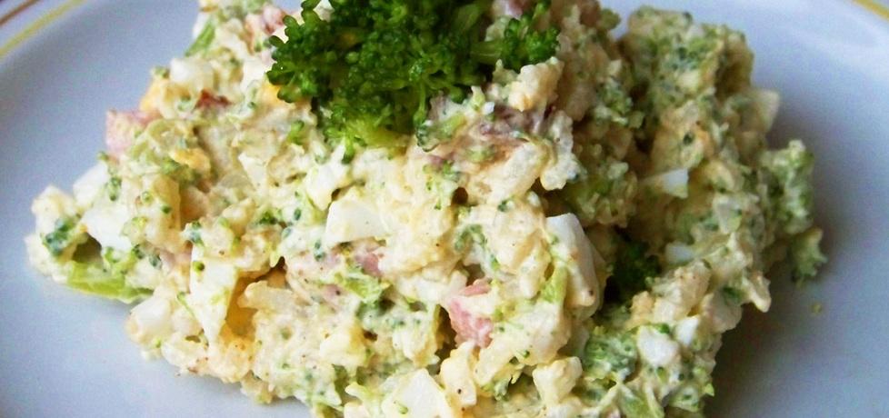 Majonezowa sałatka z brokułem (autor: renia1)