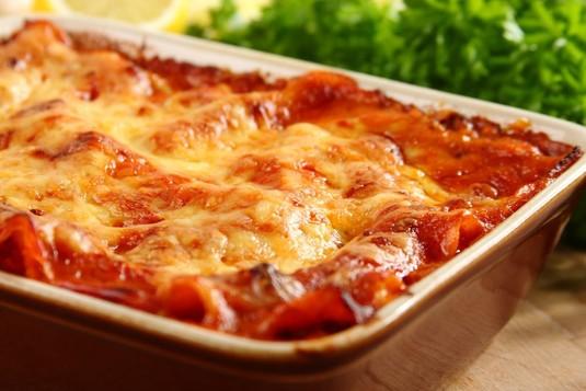 Lasagne z mięsa mielonego drobiowego