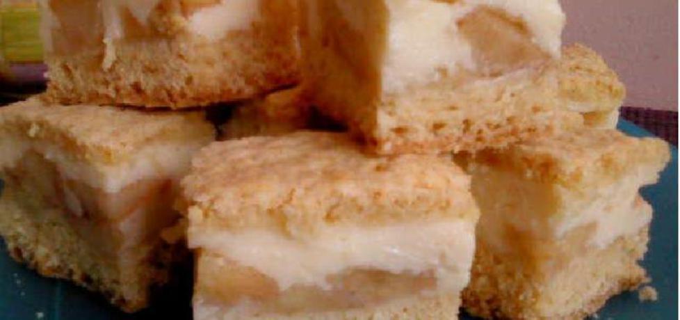 Ciasto z jabłkami i budyniem (autor: ania2610)