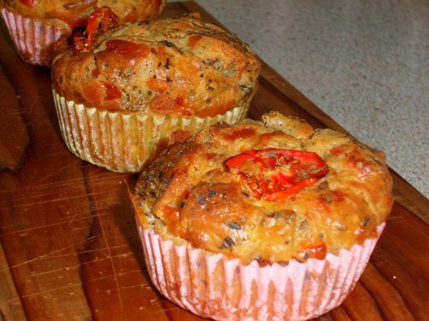 Przepis  muffinki wytrawne przepis