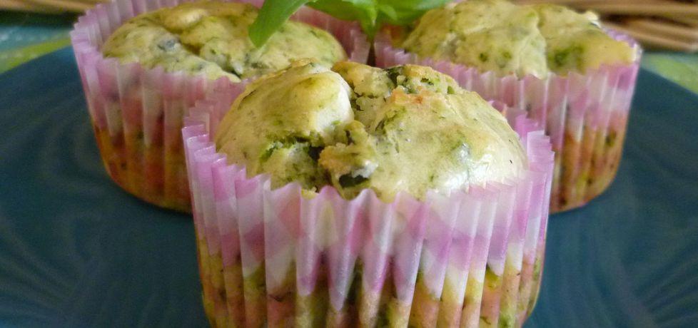 Muffiny ze szpinakiem i serem feta (autor: krystyna32 ...