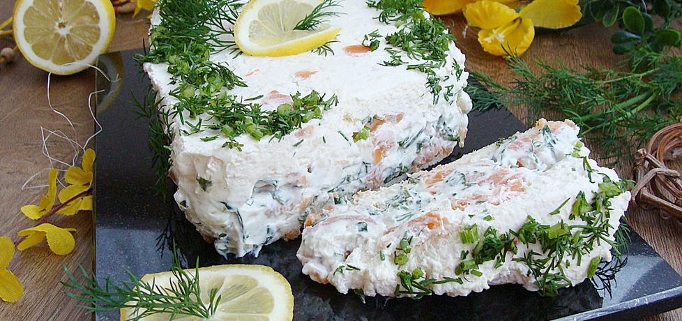 Łososiowy torcik na tostach z chrzanową pianką (autor: 2milutka ...