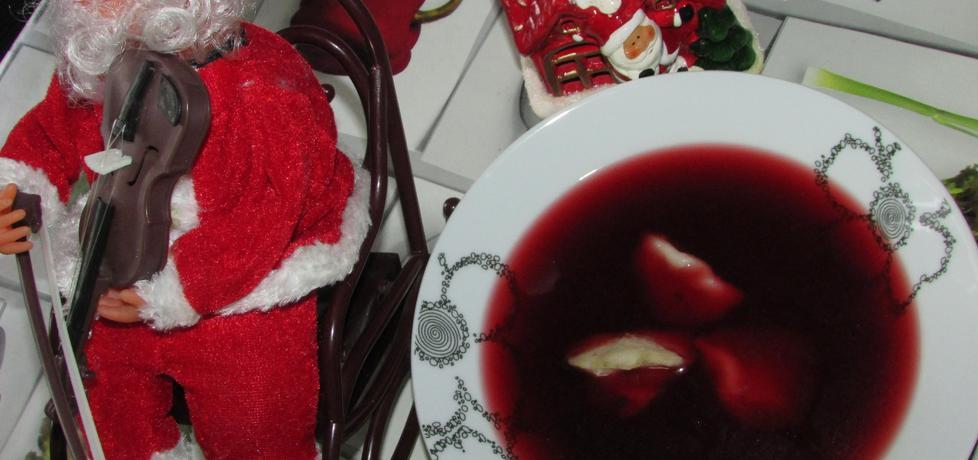 Barszcz czerwony na zakwasie (autor: benita ...